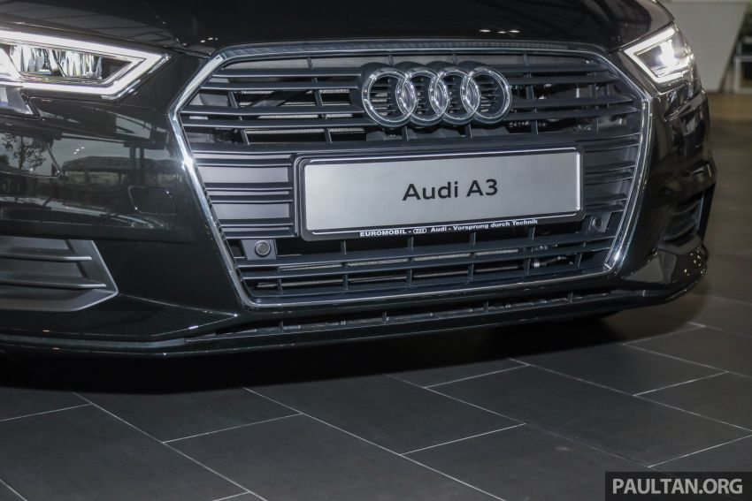 Audi A3 Sedan facelift in M'sia – 1.4 TFSI from RM240k Image #938304