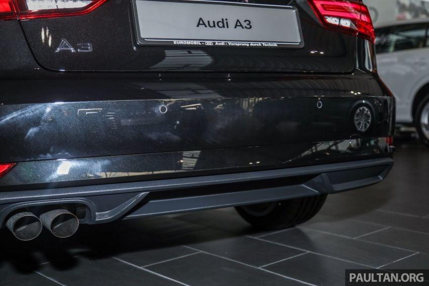 Audi A3 Sedan facelift in M'sia – 1.4 TFSI from RM240k Image #938315