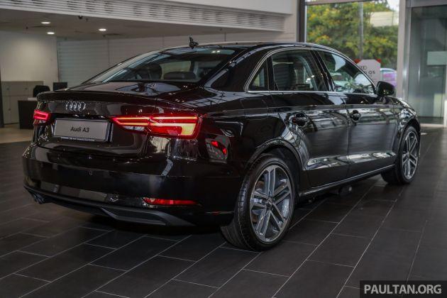 Audi A3 Sedan facelift in M'sia - 1 4 TFSI from RM240k