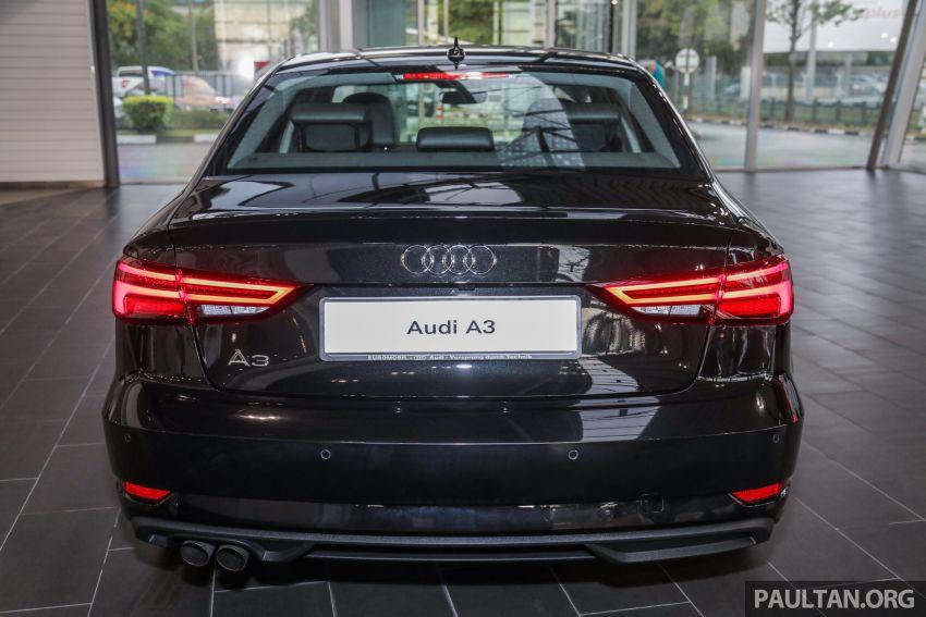 Audi A3 Sedan facelift in M'sia – 1.4 TFSI from RM240k Image #938299