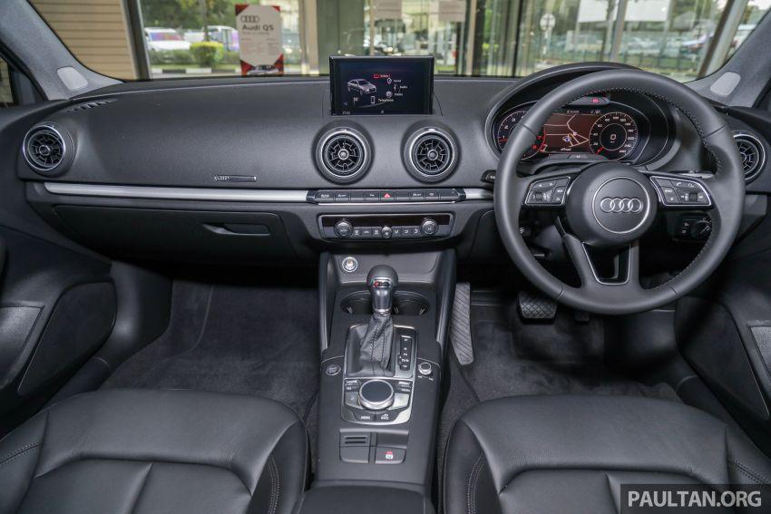 Audi A3 Sedan facelift in M'sia – 1.4 TFSI from RM240k Image #938319