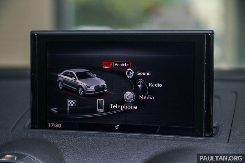 Audi A3 Sedan facelift in M'sia – 1.4 TFSI from RM240k Image #938326