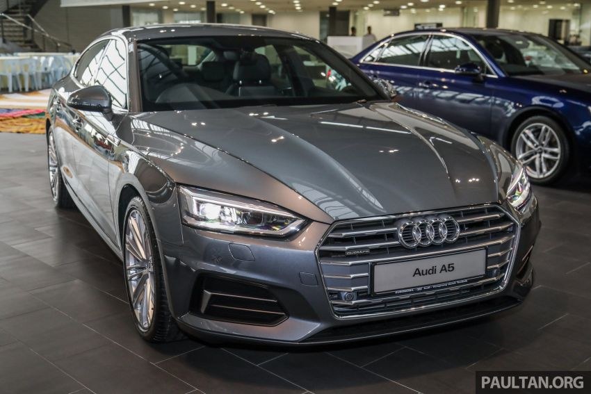 F5 Audi A5 Sportback sport 2.0 TFSI quattro previewed in Malaysia – 252 hp, 370 Nm, priced at RM339,900 Image #938375
