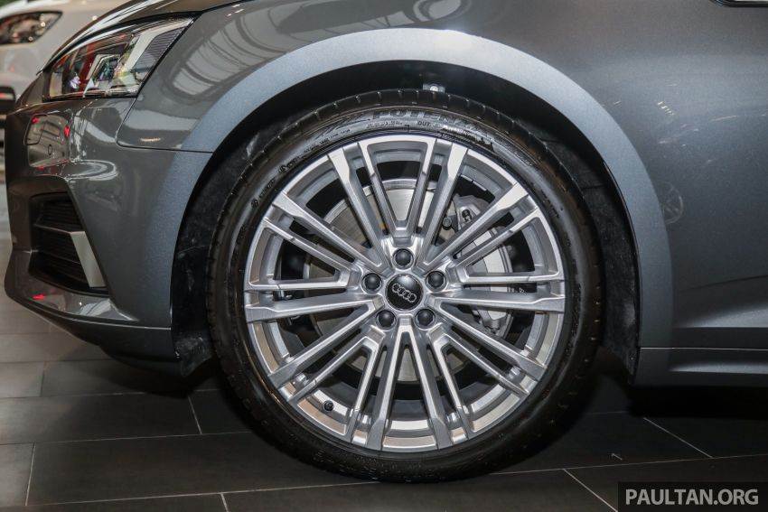 F5 Audi A5 Sportback sport 2.0 TFSI quattro previewed in Malaysia – 252 hp, 370 Nm, priced at RM339,900 Image #938389