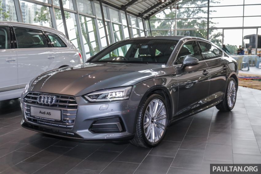 F5 Audi A5 Sportback sport 2.0 TFSI quattro previewed in Malaysia – 252 hp, 370 Nm, priced at RM339,900 Image #938376