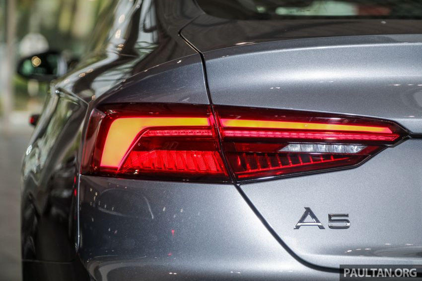 F5 Audi A5 Sportback sport 2.0 TFSI quattro previewed in Malaysia – 252 hp, 370 Nm, priced at RM339,900 Image #938397
