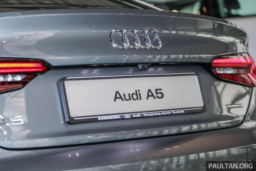 F5 Audi A5 Sportback sport 2.0 TFSI quattro previewed in Malaysia – 252 hp, 370 Nm, priced at RM339,900 Image #938399
