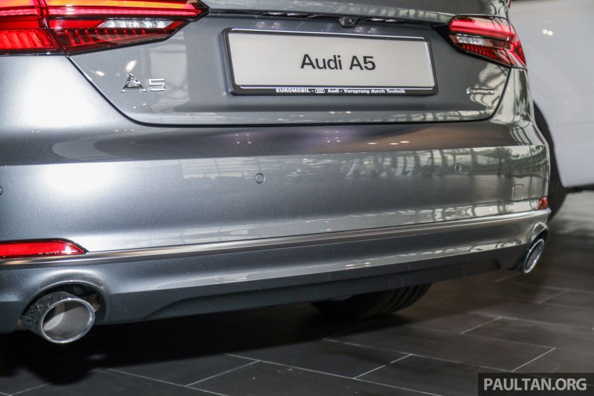 F5 Audi A5 Sportback sport 2.0 TFSI quattro previewed in Malaysia – 252 hp, 370 Nm, priced at RM339,900 Image #938400