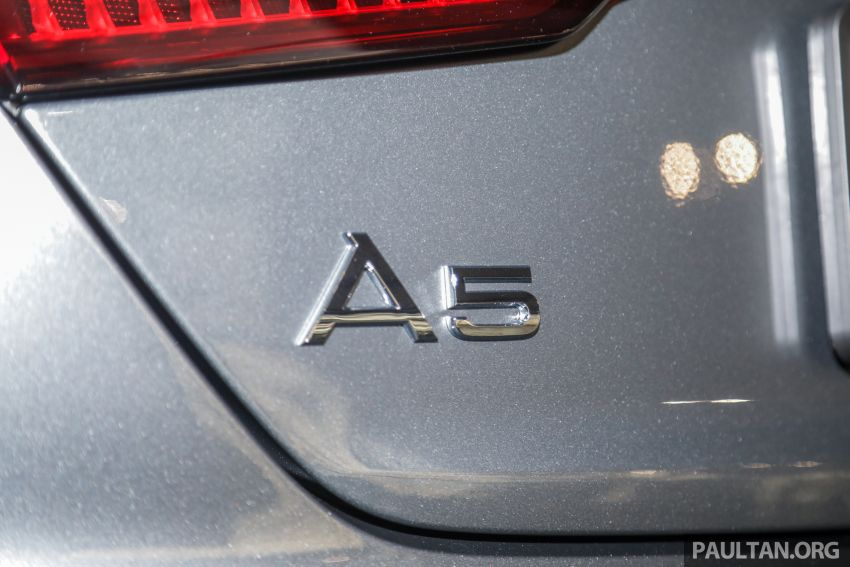 F5 Audi A5 Sportback sport 2.0 TFSI quattro previewed in Malaysia – 252 hp, 370 Nm, priced at RM339,900 Image #938401