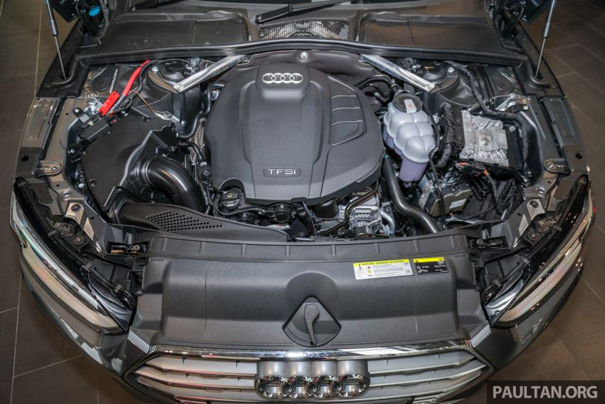 F5 Audi A5 Sportback sport 2.0 TFSI quattro previewed in Malaysia – 252 hp, 370 Nm, priced at RM339,900 Image #938403