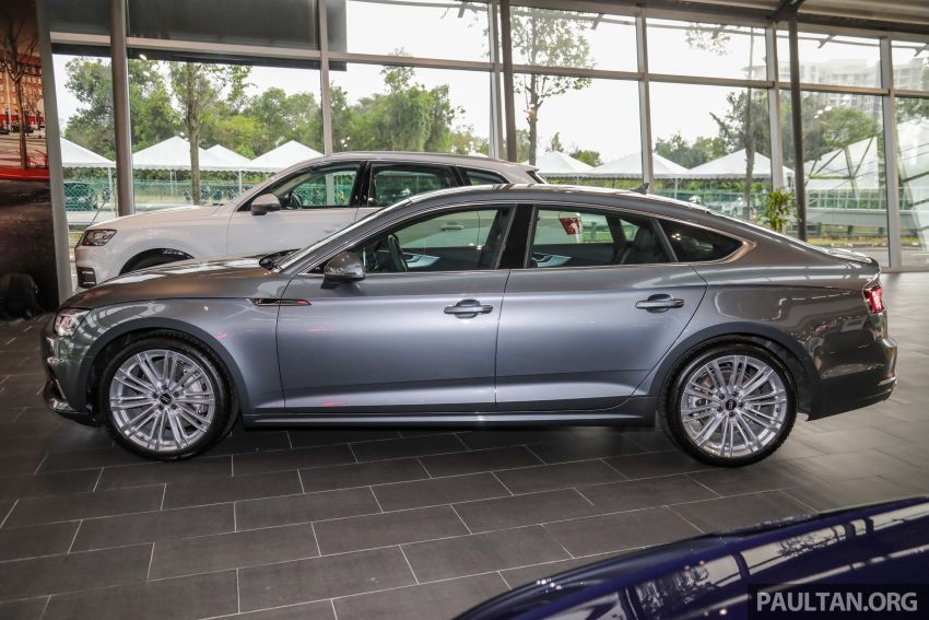 F5 Audi A5 Sportback sport 2.0 TFSI quattro previewed in Malaysia – 252 hp, 370 Nm, priced at RM339,900 Image #938379