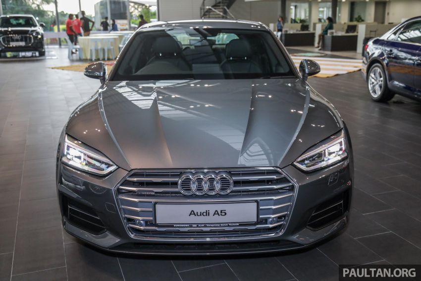 F5 Audi A5 Sportback sport 2.0 TFSI quattro previewed in Malaysia – 252 hp, 370 Nm, priced at RM339,900 Image #938380