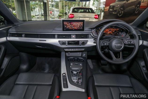 F5 Audi A5 Sportback sport 2 0 TFSI quattro previewed in Malaysia