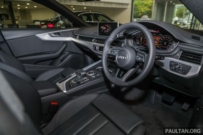 F5 Audi A5 Sportback sport 2.0 TFSI quattro previewed in Malaysia – 252 hp, 370 Nm, priced at RM339,900 Image #938406
