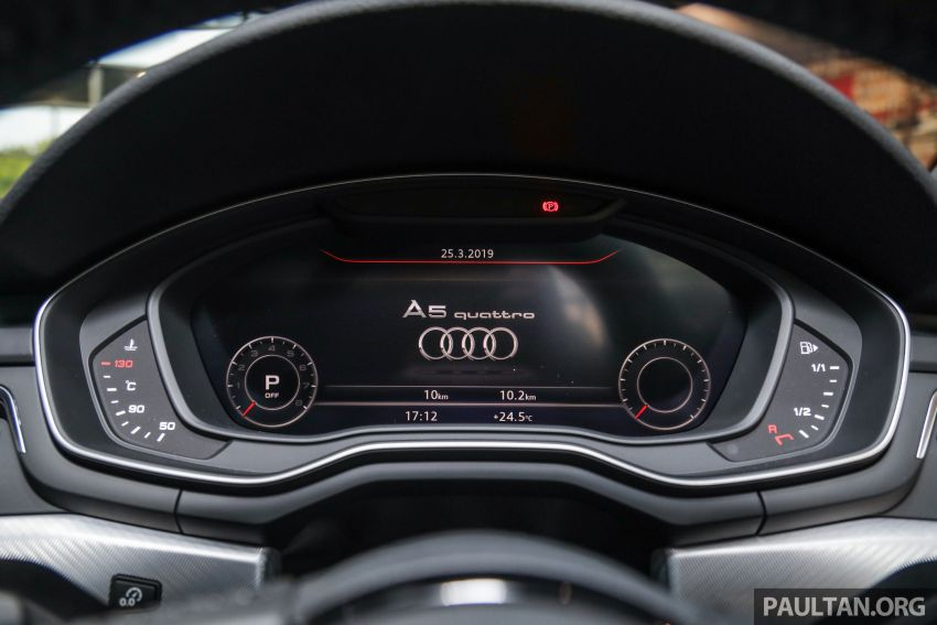 F5 Audi A5 Sportback sport 2.0 TFSI quattro previewed in Malaysia – 252 hp, 370 Nm, priced at RM339,900 Image #938408