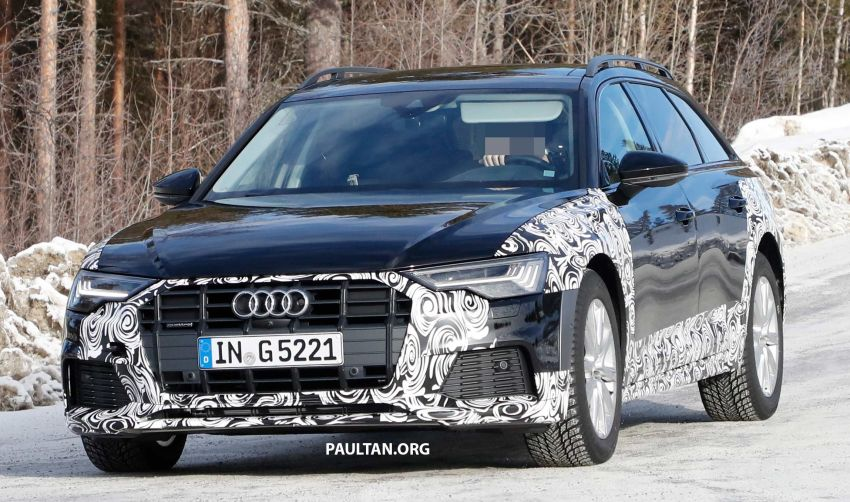 SPYSHOTS: Audi A6 allroad in production clothes Image #933993