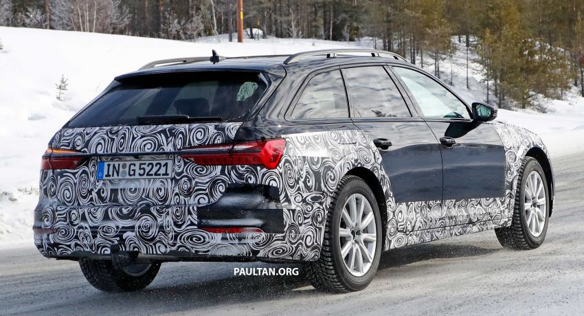SPYSHOTS: Audi A6 allroad in production clothes Image #934025