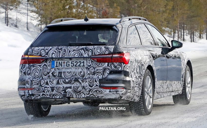 SPYSHOTS: Audi A6 allroad in production clothes Image #934032