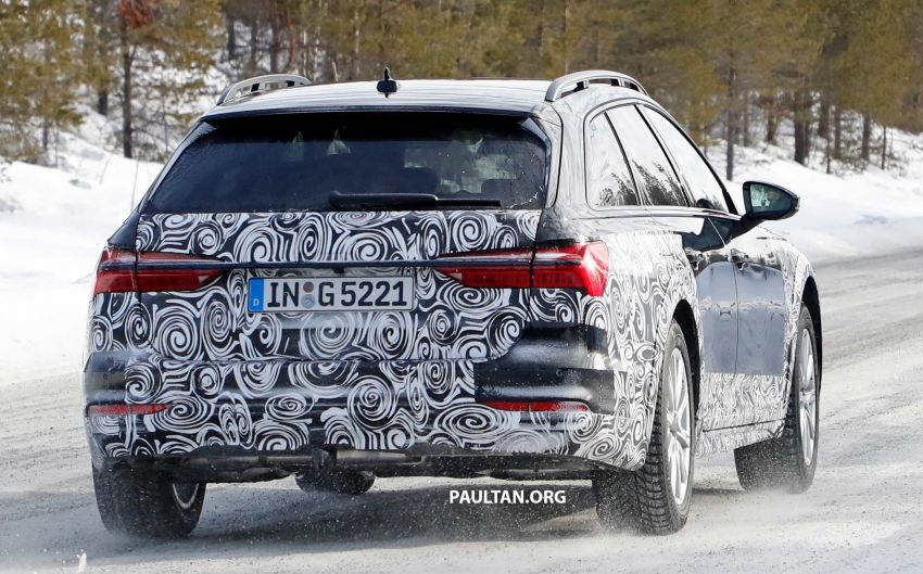 SPYSHOTS: Audi A6 allroad in production clothes Image #934033