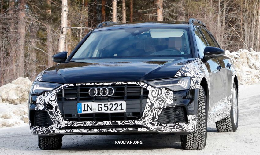 SPYSHOTS: Audi A6 allroad in production clothes Image #933994