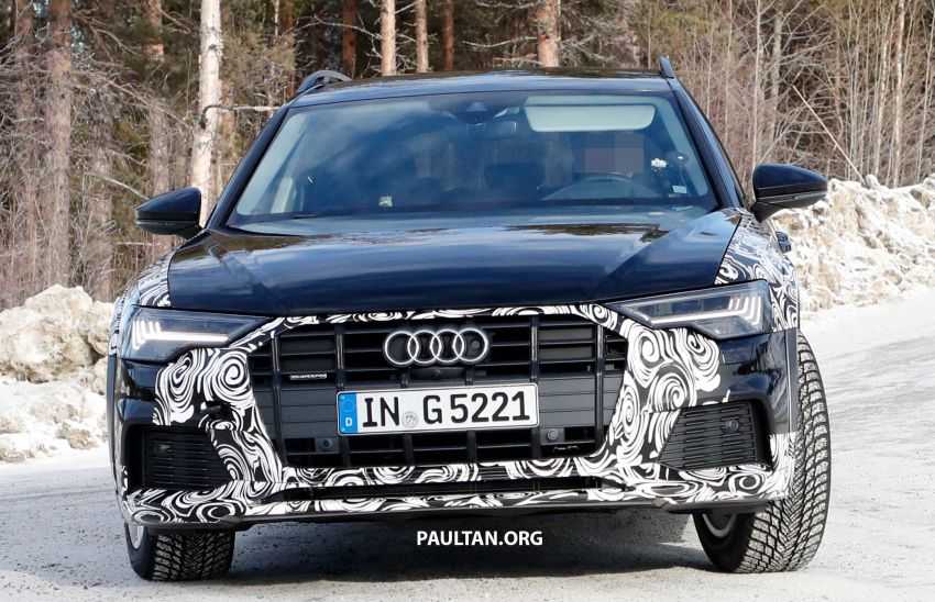 SPYSHOTS: Audi A6 allroad in production clothes Image #933995