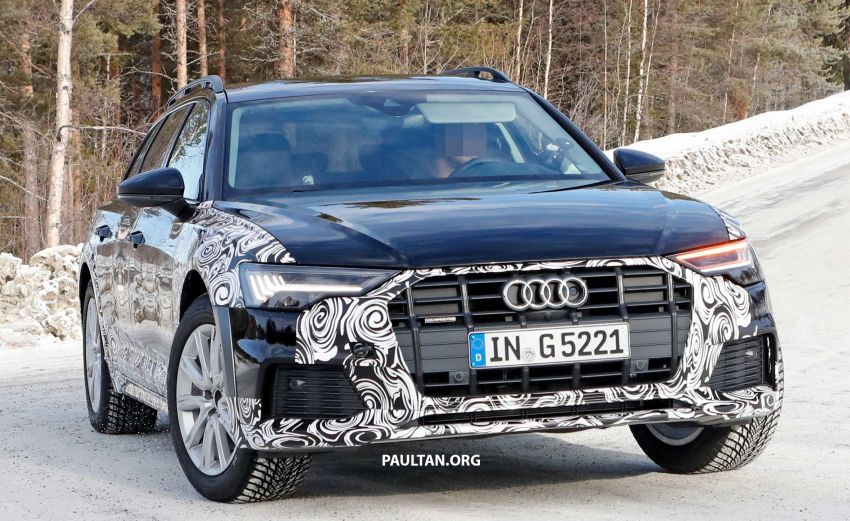 SPYSHOTS: Audi A6 allroad in production clothes Image #934001