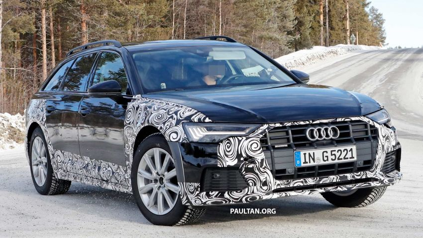SPYSHOTS: Audi A6 allroad in production clothes Image #934016