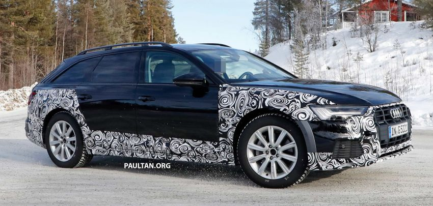 SPYSHOTS: Audi A6 allroad in production clothes Image #934018