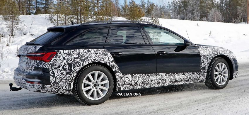 SPYSHOTS: Audi A6 allroad in production clothes Image #934020