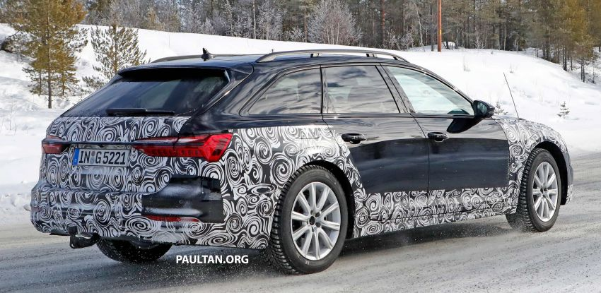 SPYSHOTS: Audi A6 allroad in production clothes Image #934022