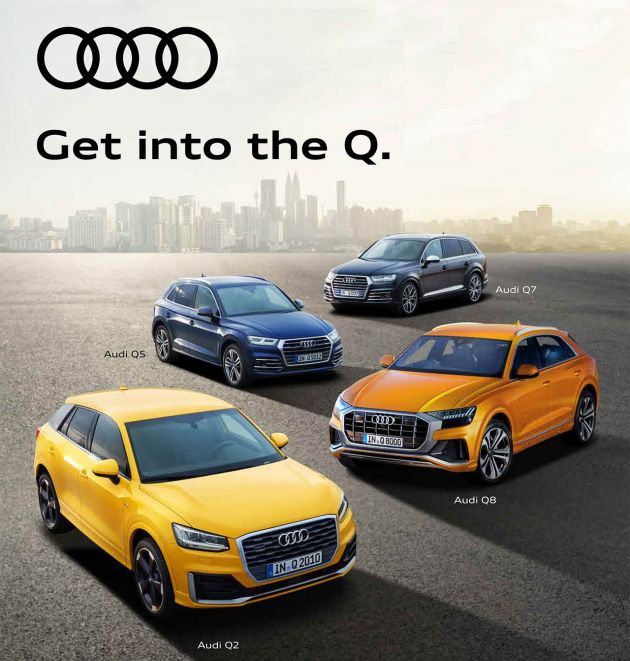 Audi Suv Models >> Ad Experience Audi S Range Of Suv Models At The Q Campaign Open