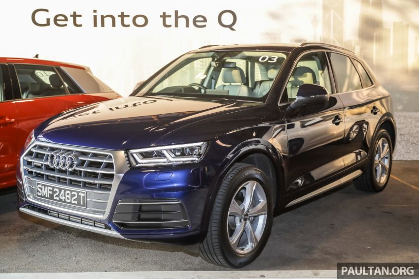 Audi Q5 sport 2.0 TFSI quattro launched, from RM340k Image #928869