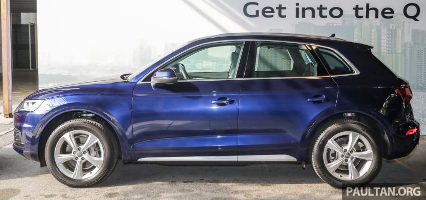 Audi Q5 sport 2.0 TFSI quattro launched, from RM340k Image #928871