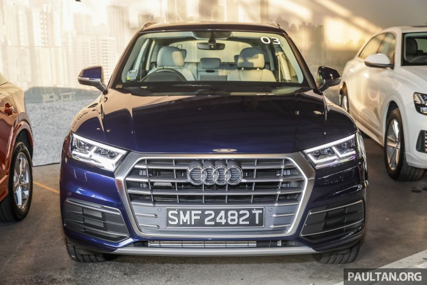 Audi Q5 sport 2.0 TFSI quattro launched, from RM340k Image #928872