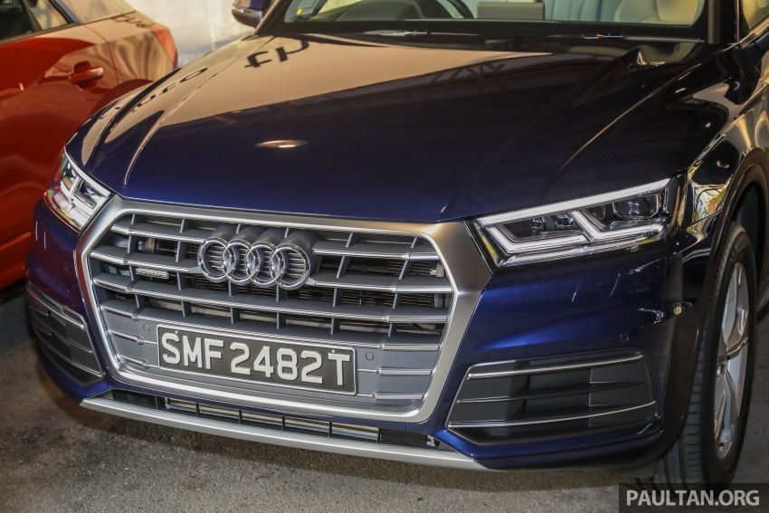 Audi Q5 sport 2.0 TFSI quattro launched, from RM340k Image #928877