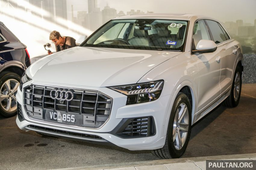Audi Q8 3.0 TFSI quattro now in M'sia, from RM728k Image #928874
