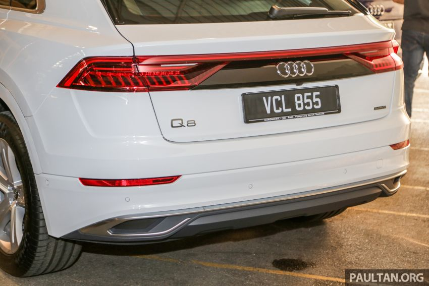 Audi Q8 3.0 TFSI quattro now in M'sia, from RM728k Image #928917