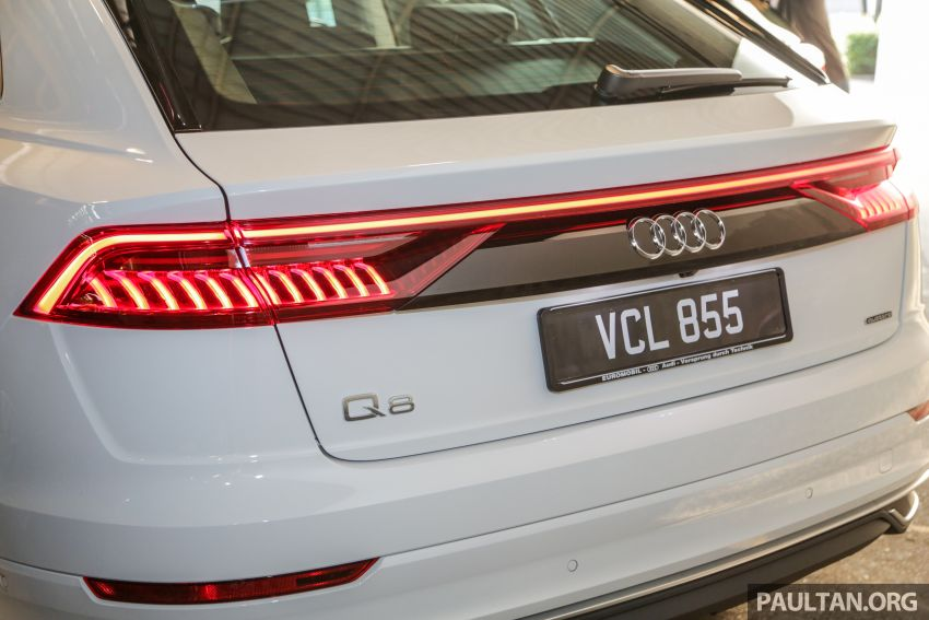 Audi Q8 3.0 TFSI quattro now in M'sia, from RM728k Image #928918