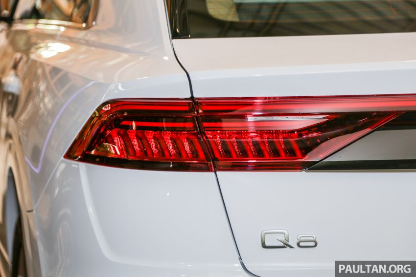Audi Q8 3.0 TFSI quattro now in M'sia, from RM728k Image #928921
