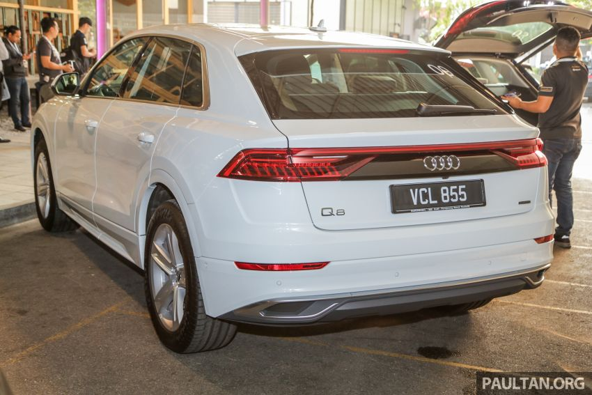 Audi Q8 3.0 TFSI quattro now in M'sia, from RM728k Image #928876