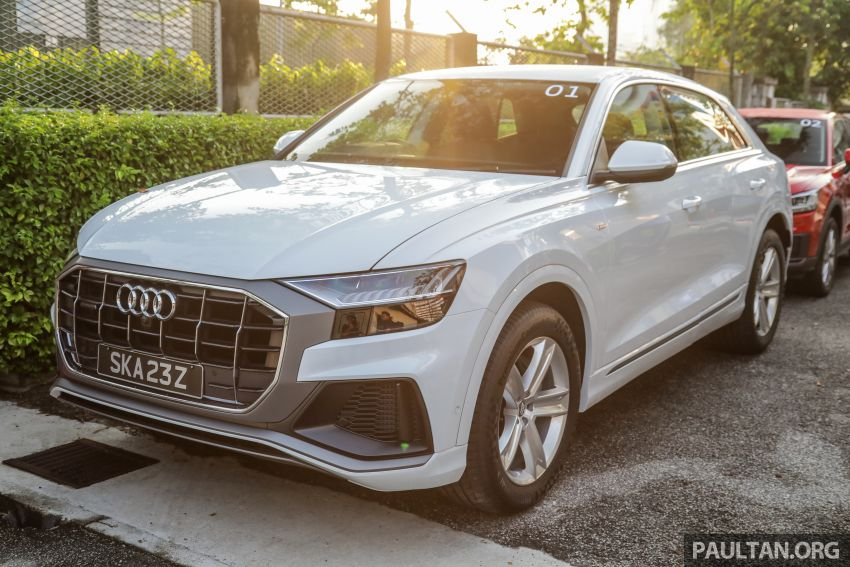 Audi Q8 3.0 TFSI quattro now in M'sia, from RM728k Image #928939
