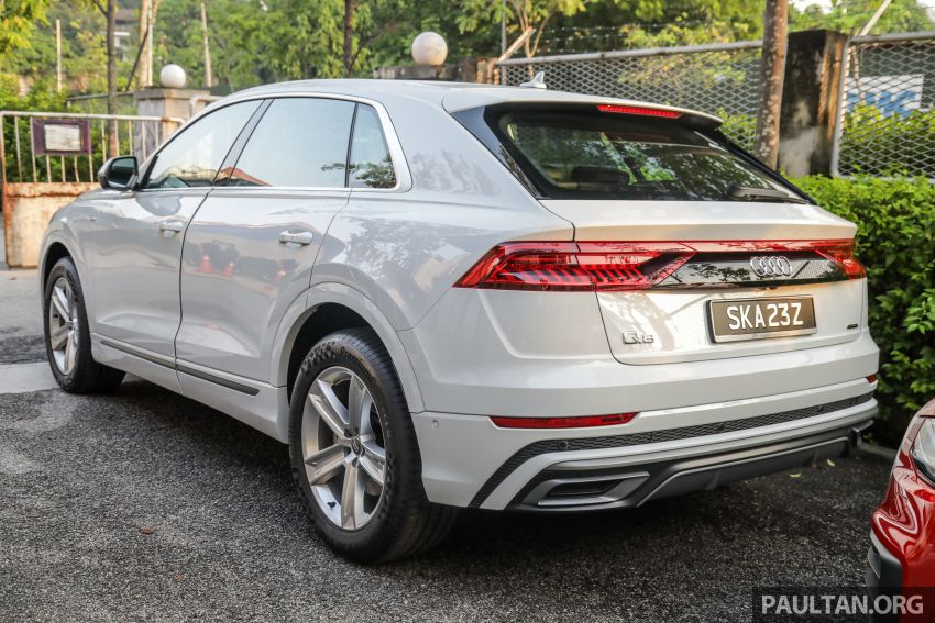 Audi Q8 3.0 TFSI quattro now in M'sia, from RM728k Image #928943