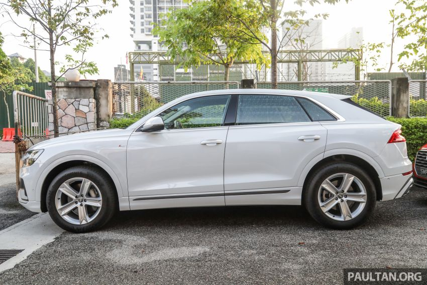 Audi Q8 3.0 TFSI quattro now in M'sia, from RM728k Image #928946