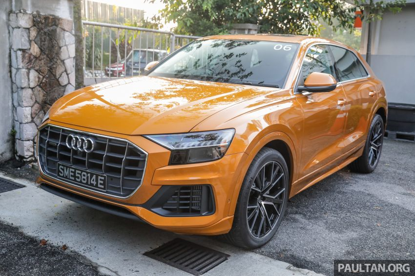 Audi Q8 3.0 TFSI quattro now in M'sia, from RM728k Image #928948
