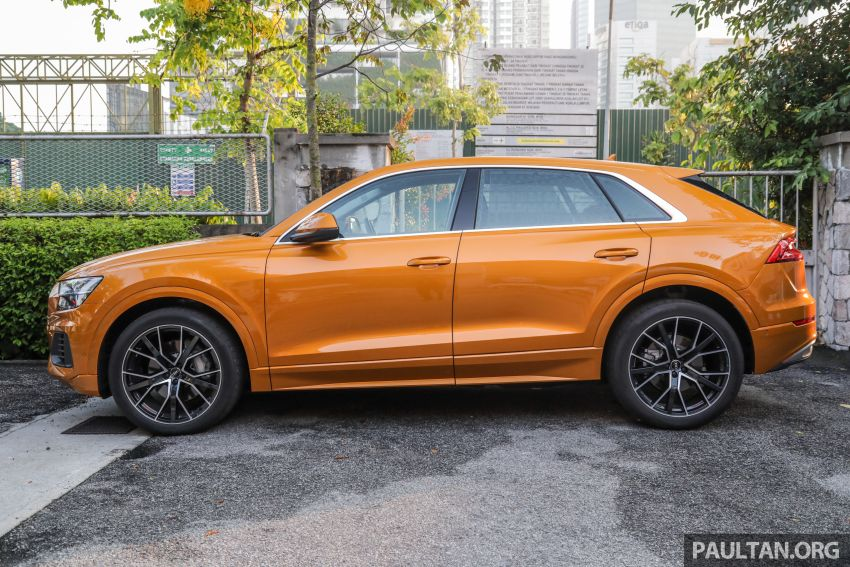 Audi Q8 3.0 TFSI quattro now in M'sia, from RM728k Image #928955