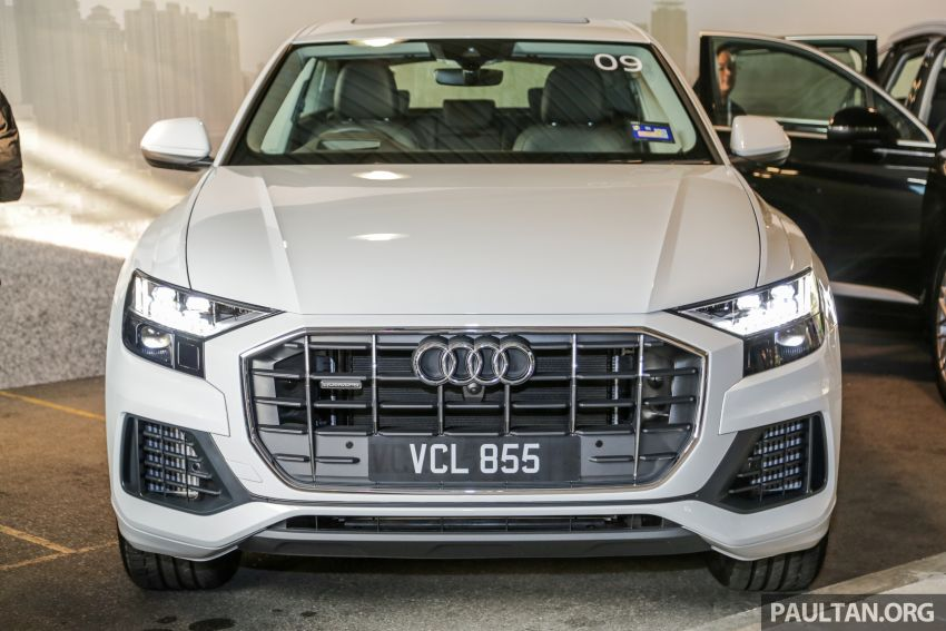 Audi Q8 3.0 TFSI quattro now in M'sia, from RM728k Image #928879