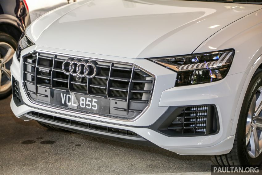 Audi Q8 3.0 TFSI quattro now in M'sia, from RM728k Image #928881
