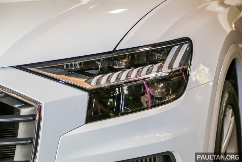 Audi Q8 3.0 TFSI quattro now in M'sia, from RM728k Image #928884