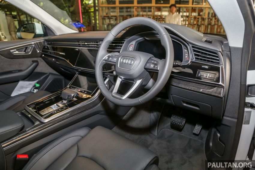 Audi Q8 3.0 TFSI quattro now in M'sia, from RM728k Image #928959