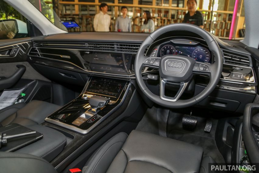 Audi Q8 3.0 TFSI quattro now in M'sia, from RM728k Image #929004